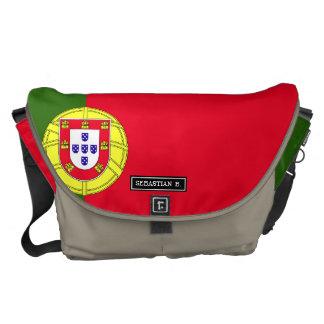 Flag of Portugal Messenger Bag