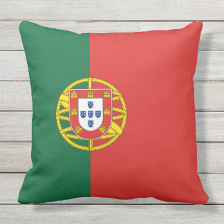Flag of Portugal Outdoor Pillow