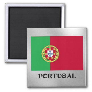 Flag of Portugal Square Magnet