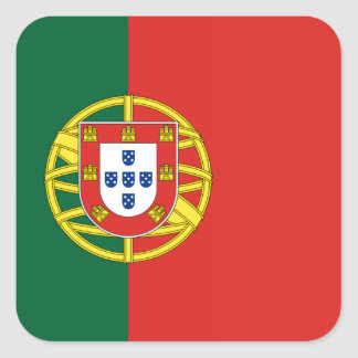 Flag of Portugal Square Sticker