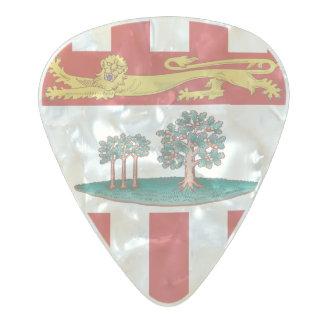 Flag of Prince Edward Island Guitar Picks Pearl Celluloid Guitar Pick