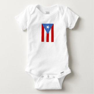 Flag of Puerto Rico Baby Onesie