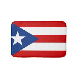 Flag of Puerto Rico Bathroom Mat