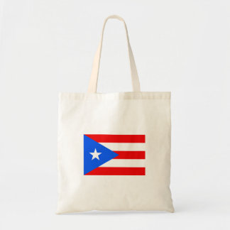 Flag of Puerto Rico Budget Tote