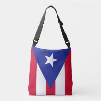 Flag of Puerto Rico Crossbody Bag