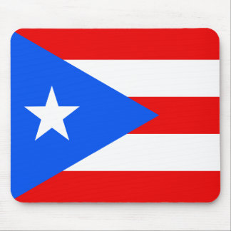 Flag of Puerto Rico Mouse Pad