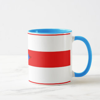 Flag of Puerto Rico Mug
