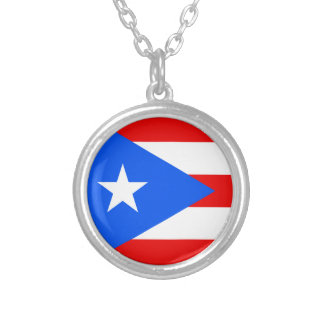 Flag of Puerto Rico Necklace