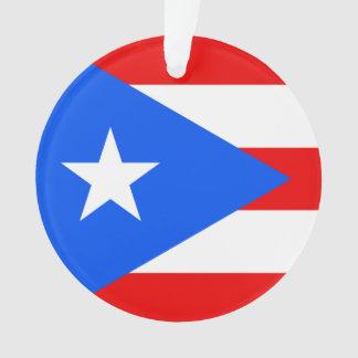 Flag of Puerto Rico Ornament