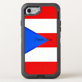 Flag of Puerto Rico OtterBox Defender iPhone 7 Case