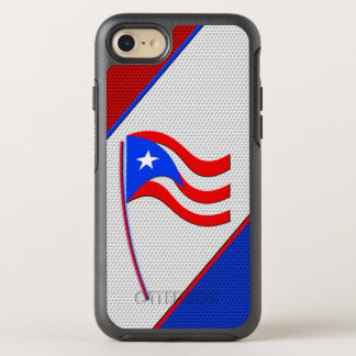 Flag of Puerto Rico OtterBox Symmetry iPhone 7 Case