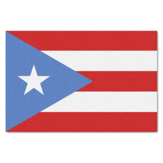 Flag of Puerto Rico Tissue Paper