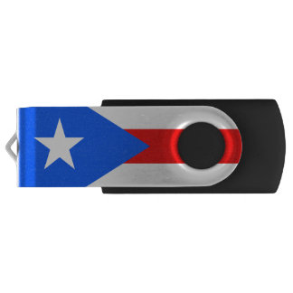 Flag of Puerto Rico USB Flash Drive