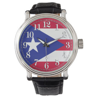 Flag of Puerto Rico Watch