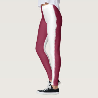 Flag of Qatar Leggings