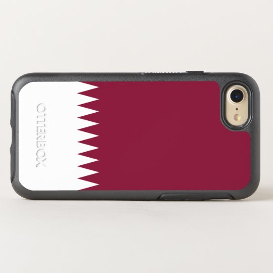 Flag of Qatar OtterBox iPhone Case