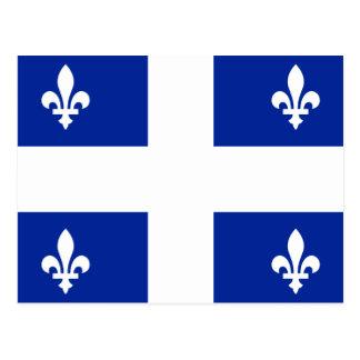Flag of Quebec Postcard