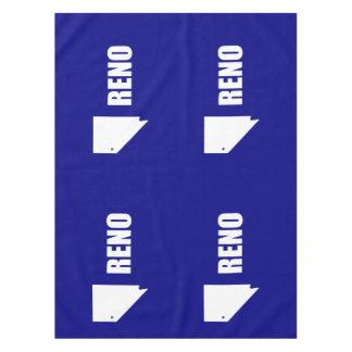 Flag of Reno, Nevada Tablecloth
