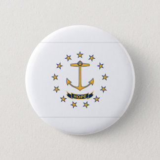 Flag Of Rhode Island 2 Inch Round Button