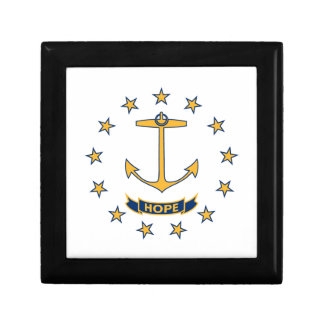 Flag Of Rhode Island Gift Box