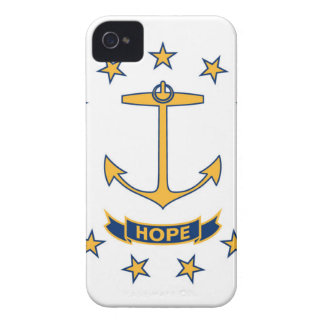 Flag Of Rhode Island iPhone 4 Covers