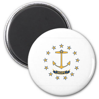 Flag Of Rhode Island Magnet