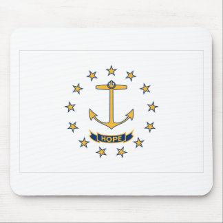 Flag Of Rhode Island Mouse Pad
