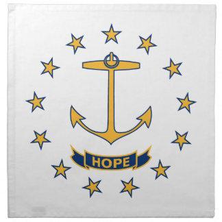 Flag Of Rhode Island Napkin