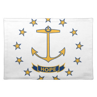 Flag Of Rhode Island Placemat