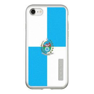 Flag of Rio de Janeiro Silver iPhone Case