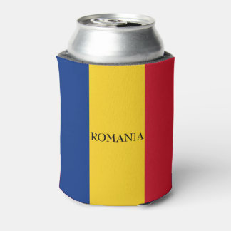 Flag of Romania Can Cooler