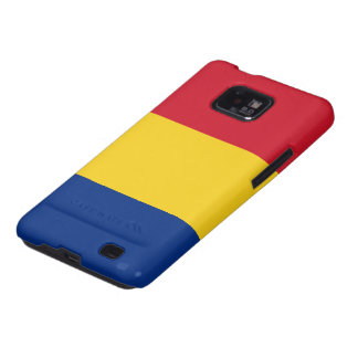Flag of Romania Galaxy S2 Cover