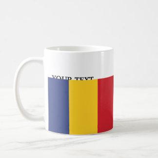 Flag of Romania Coffee Mug
