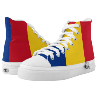 Flag of Romania High Tops