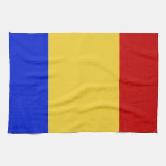 Flag of Romania Kitchen Towel