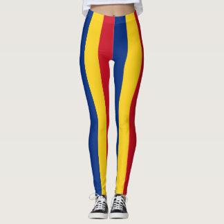 Flag of Romania Leggings