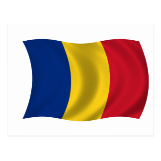 Flag of Romania Postcard