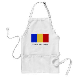 Flag of Romania Standard Apron
