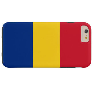 Flag of Romania Tough iPhone 6 Plus Case