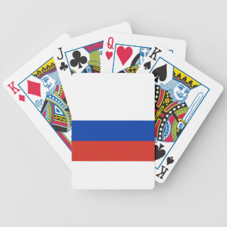Flag of Russia - Флаг России - Триколор Trikolor Bicycle Playing Cards