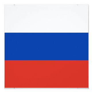 Flag of Russia - Флаг России - Триколор Trikolor Card
