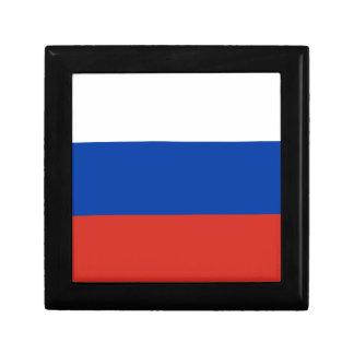 Flag of Russia - Флаг России - Триколор Trikolor Keepsake Box