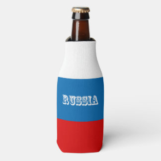 Flag of Russia Bottle Cooler