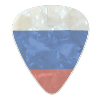 Flag of Russia Guitar Picks Pearl Celluloid Guitar Pick