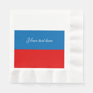 Flag of Russia Paper Napkins