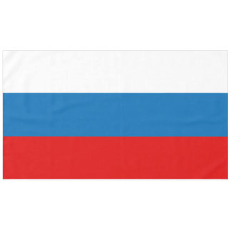 Flag of Russia Tablecloth