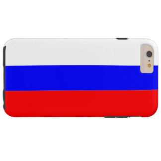 Flag of Russia Tough iPhone 6 Plus Case