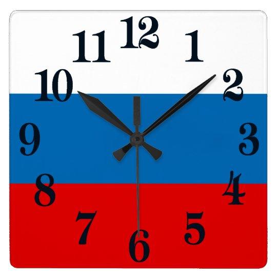 Flag of Russia Wallclocks