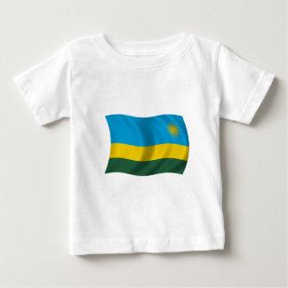 Flag of Rwanda Baby T-Shirt