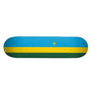 Flag of Rwanda Skateboard Deck